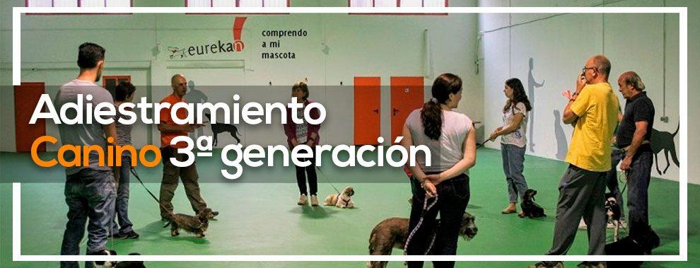curso adiestramiento 3 generacion